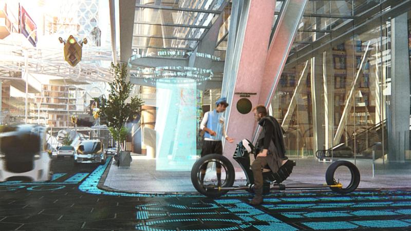 Bike-scene